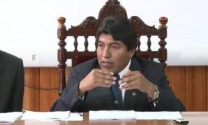 Alcalde de Puno  Ivan Flores